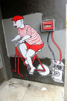 Юрий (yuri) - street art - Vitry-sur-seine - rue saint-germain