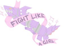 Fight Like A Girl (fishbones) by Dayninja01