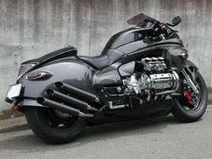Dragon King Valkyrie. Studio Whitehouse, Japan converted a stock Honda Valkyrie into the Dragon King