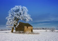 Derbyshire in the Snow by Ian Lewry taken in Derbyshire, England (Commended in Classic View category for Landscape Photographer of the Year 2012) Gorgeous.
