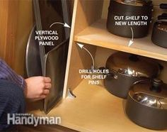 Kitchen Storage Solutions: Pantry Storage Tips & Cabinet Organization Tips - Article   The Family Handyman