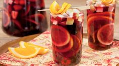 Yummy Lovely Sangria Ideas that Can Complete Your Winter!