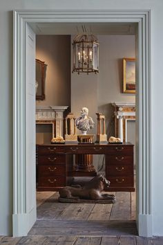 London's Antique Whisperer: the quietly beautiful, yet grand aesthetic of Will Fisher, founder of antique and reproduction house Jamb Limited.