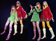 London girls demanded them. The mini skirt had taken over the world Pattie Boyd, Girls Slip, London Girls, Paris Design, Famous Girls, I Love Girls, Girl Pictures, 1960s, Mini Skirts