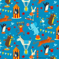 Nancy Wolff - adorable fabric
