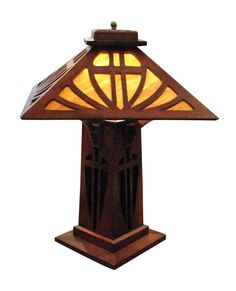Arts & Crafts wood lamp: Architectural Salvage Online Store, Buy Altered Antiques | OGTstore.com
