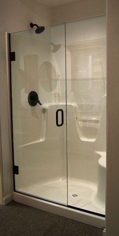 fiberglass standing shower - Google Search