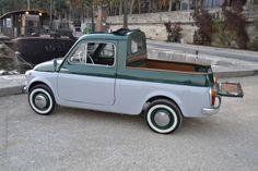 Fiat 500 pick up, Sté Parfait Etat, spécialiste Fiat 500, paris
