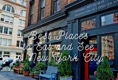 Best Places to Eat and See in New York City. The ultimate guide to NYC. Tips and tricks from locals on how to navigate the city. Best places to eat in New York City plus the best places to see while you are there. It's one of my most popular cities to visit in the world for good reason. A perfect comprehensive travel guide to New York City!