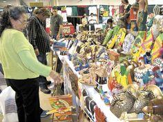 En los últimos años productos  nicaragüenses como las artesanías  han intentado abrirse mercado en la Florida a través de ferias internacionales.   LA PRENSA/ARCHIVO