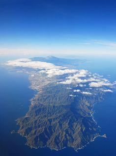 A vista de Pájaro Isla de #Tenerife, #Islas Canarias