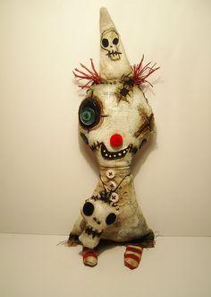 Monster Clown Doink by Junker Jane