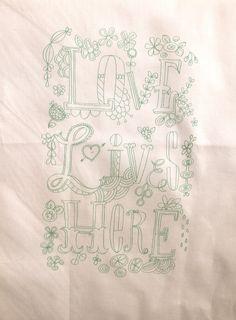 Embroidery Sampler Patterns from Pamela Garrison