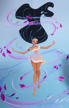 Pocahontas Colours of the Wind Art by Liana Hee