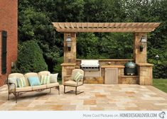 15 Ideas For Highly Functional Traditional Outdoor Kitchens