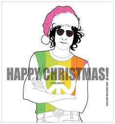 John Lennon re'imagined' #johnlennon #celebrityillustration #beatles #kathwalker