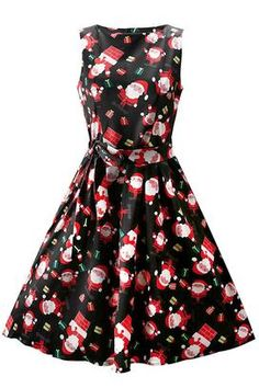 b97c95e39ef71 Cupshe Christmas All Night Sleeveless Dress Hot Clothes, Clothes For Women,  Ruffle Dress,