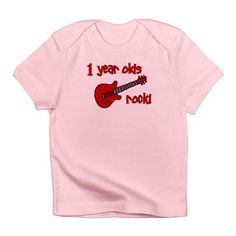 1 year olds Rock! Infant T-Shirt  £10.00