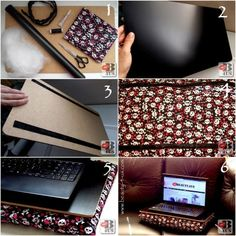 Beauty4Us: DIY: Almofada para Notebook Tablets, Diy Pillows, Blog, Ipods, Sewing Tips, Embellishments, Decorating Ideas, Computers, Ipod