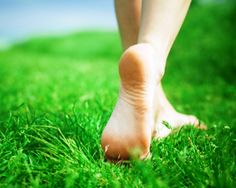 Walking barefoot OR grounding (feet in grass in water / beach) your body to the Earth allows for the transfer of free electrons from the Earth into your body. These free electrons are some of the most potent antioxidants known to man. Any free radicals they encounter in your tissues will immediately be electrically neutralized. Grounding also thins your blood, making it less viscous, which can be helpful against heart disease and blood clots. Try doing it for 30 minutes daily...