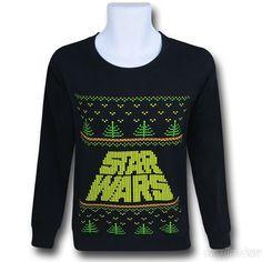 Star Wars Logo Scroll Christmas Sweater