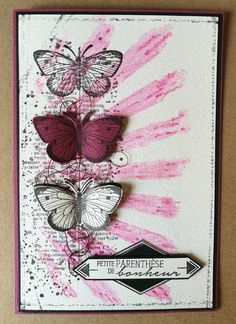 Ideas birthday card diy butterfly stamps for 2019 Diy Butterfly, Butterfly Cards, Card Making Templates, Art Journal Techniques, Beautiful Handmade Cards, Some Cards, Card Making Inspiration, Watercolor Cards, Card Tags