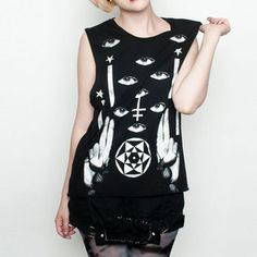 Hex Mex Muscle Tee Black now featured on Fab.