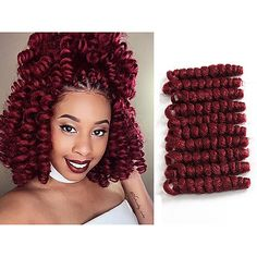 43 Cool Blonde Box Braids Hairstyles to Try - Hairstyles Trends Curly Crochet Braids, Curly Crochet Hair Styles, Crochets Braids, Curly Hair Styles, Crotchet Styles, Box Braids Hairstyles, Fishtail Braid Hairstyles, Hairstyle Ideas, Braids With Shaved Sides