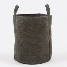 YUYU Round Basket - Charcoal (Image 1)