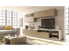 Descubre en nuestra tienda de muebles en Vigo una gran cantidad productos como 713 mueble de salón con módulos de colgar, y otros complementos.