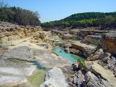 Canyon Lake Gorge in Canyon Lake, TX- Dinosaur tracks!