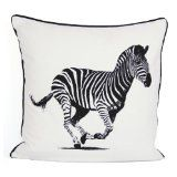 100% Cotton's Brand New ZEBRA Luxury Cushion Cover Size 18