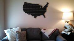 Wooden USA Wall Map - Imgur