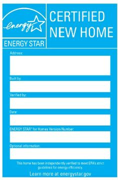 Shopping for a new home? You'll want this label on it. #ENERGYSTAR