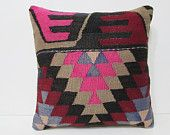 pink kilim pillow 20x20 historical 50x50 pillow cover 20 inch pillow cover bedroom decoration tribal fabric pillow bench throw pillow 26666