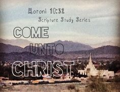 Youth 2014 Scripture Study Series
