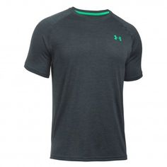 Under Armour Tech shirt heren stealth grey De Wit Schijndel @underarmour #shirt #underarmour #fitness #sport