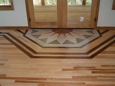 Hardwood floors require specialized care to remain beautiful year after year. Even so, wood flooring continues to be in high … Hickory Wood Floors, Modern Wood Floors, Types Of Wood Flooring, Diy Wood Floors, Painted Floors, Wooden Flooring, Hardwood Floors, Flooring Ideas, Painted Wood