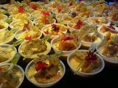 """Bisque de Crevettes"" Shrimp Bisque w/ Prawns, Basil Oil Pipette, and Peppercorn Tuille"