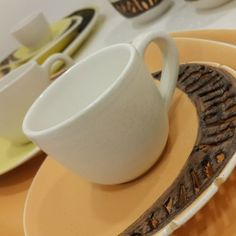 """Set of 6 """"Oud"""" Turkish Coffee Cups & Saucers"""