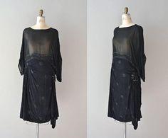 1920s dress / silk beaded 20s dress / Cirque by DearGolden on Etsy, $355.00