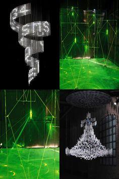Swarovski x Design Museum #art #interiors