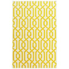 Ručne tkaný koberec Camila Yellow, 120x180 cm