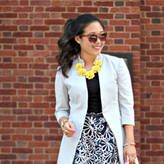 Chic Floral Office Outfit