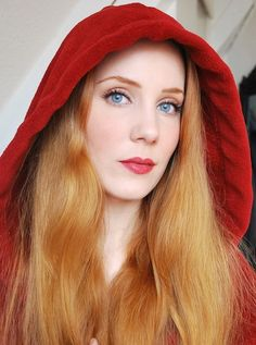 Simone Simons Little Red Riding Hoodie