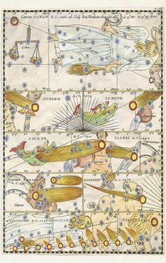 Theatrum Comicum, Celestial Print, c. 1667, Stanislaus Lubienitzky. #Universe#Sky#Galaqy space,Shine star,Starry ski