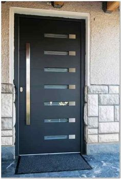 mid-century modern front doors - Google Search
