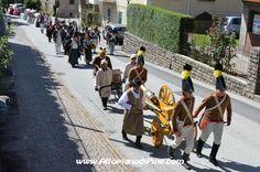 Settimana napoleonica - Baselga di Pinè agosto 2014