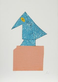 Enrico Baj, 'Portrait 4 from Baj Chez Picasso', 1969