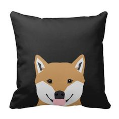 Shiba Inu - cute dog illustration for pet owners